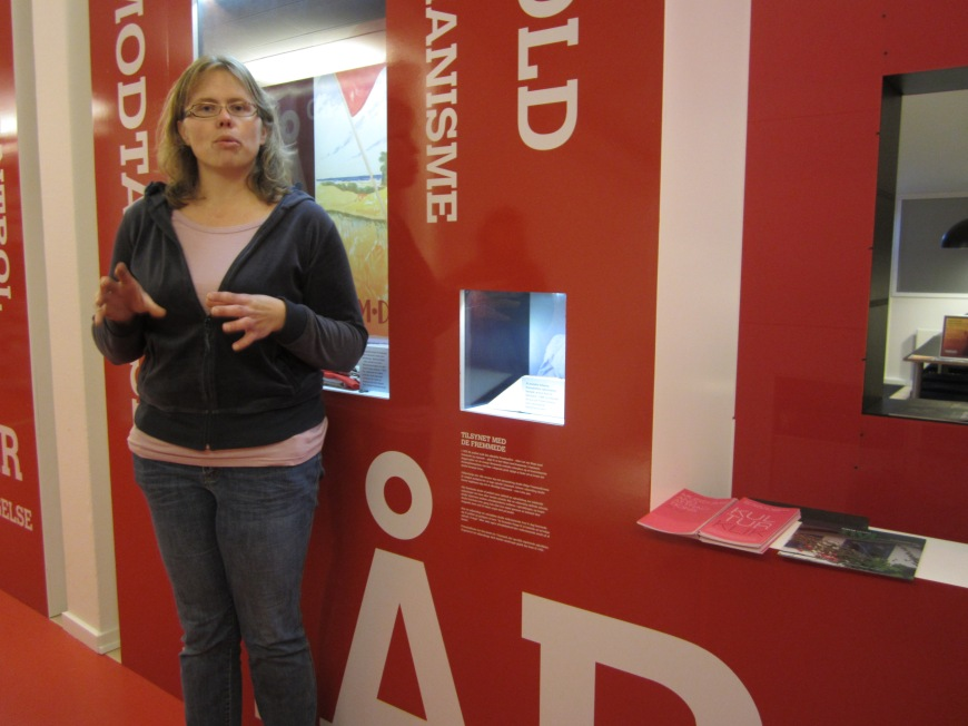 Sarah, our historian. Thanks for your dedication  to collect valuable pieces that build Denmark nowadays.