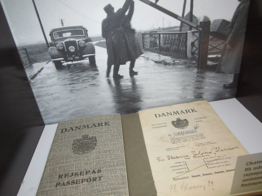 This is how Danish passport looked like back then. And people from outside DK had to deposit certain amount of money in order to stay in the country.---not so much different with the immigration rules now, eh?