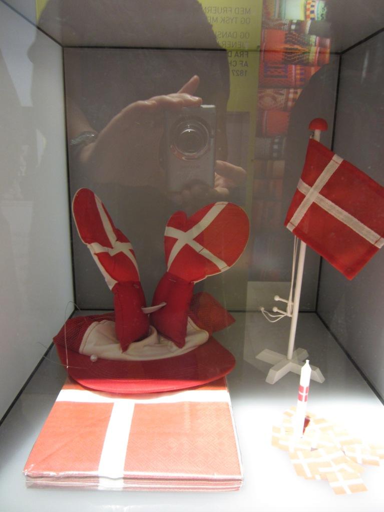 Danish use dannebrog motives on everything