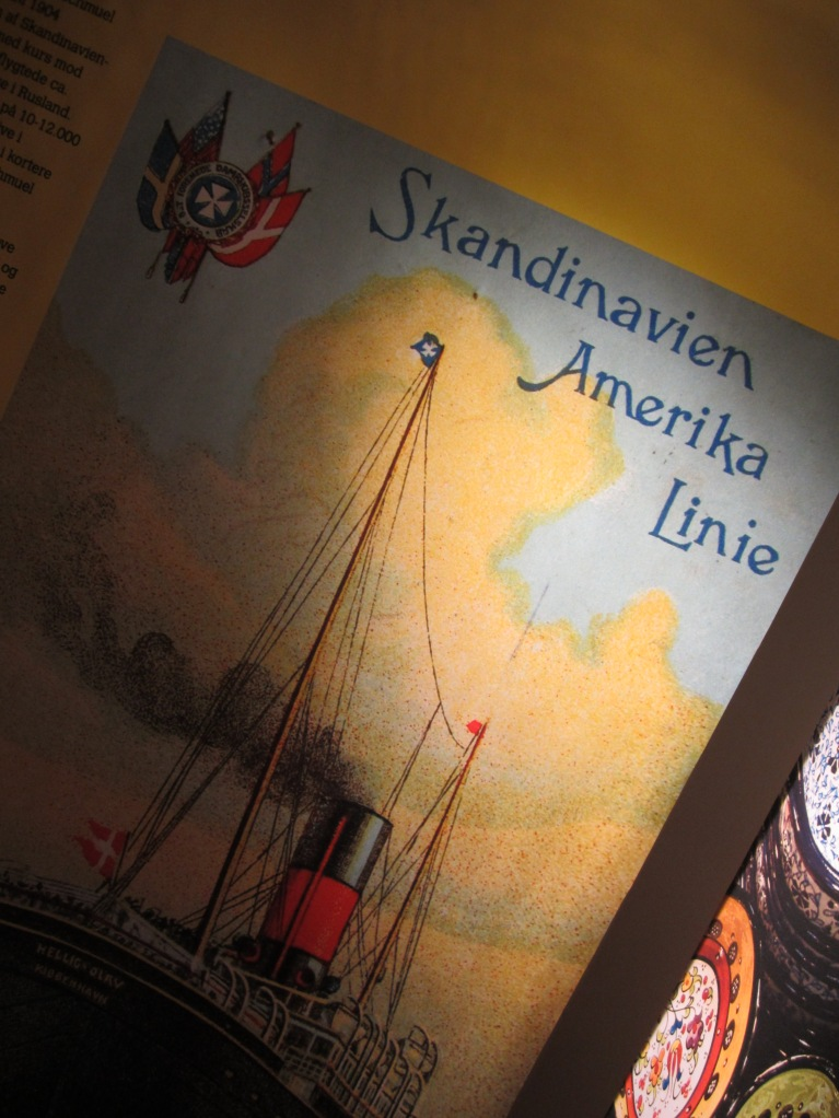 The danes and their pathway of immigration to the new world, America
