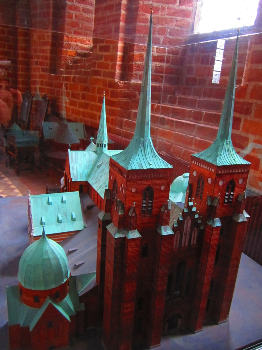 Miniature of Roskilde Cathedral